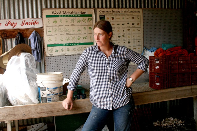 Anne Cure owns and operates Cure Organic Farm in Boulder, Colorado.