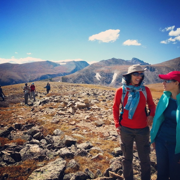 Fellows at Niwot Ridge in Colorado.