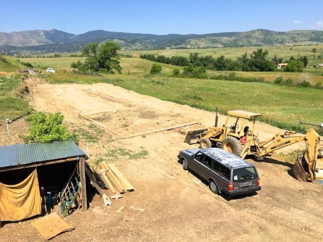 Site of new refinery being built at Black Cat in the foothills just north of Boulder (photo courtesy Philip Taylor).